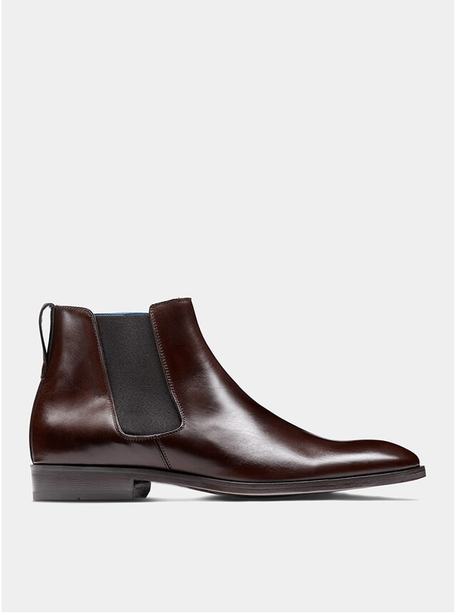 Dark Bown The Fourth Son Chelsea Boots