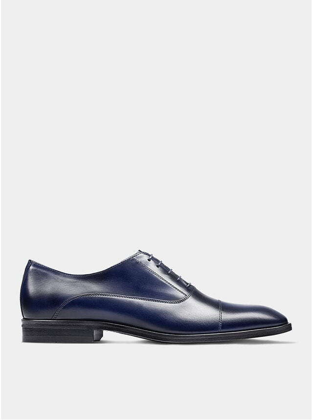 Navy The First Son Oxford Shoes