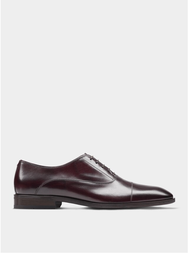 Oxblood The First Son Oxford Shoes