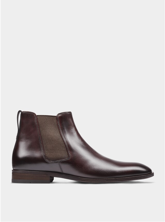 Oxblood The Fourth Son Chelsea Boots