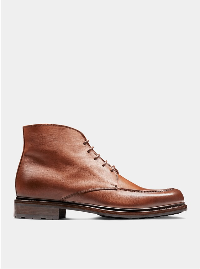 Tan The Eighth Son Derby Boots