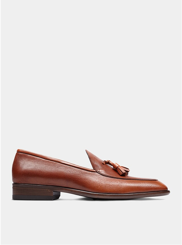 Tan The Sixth Son Tassel Loafers