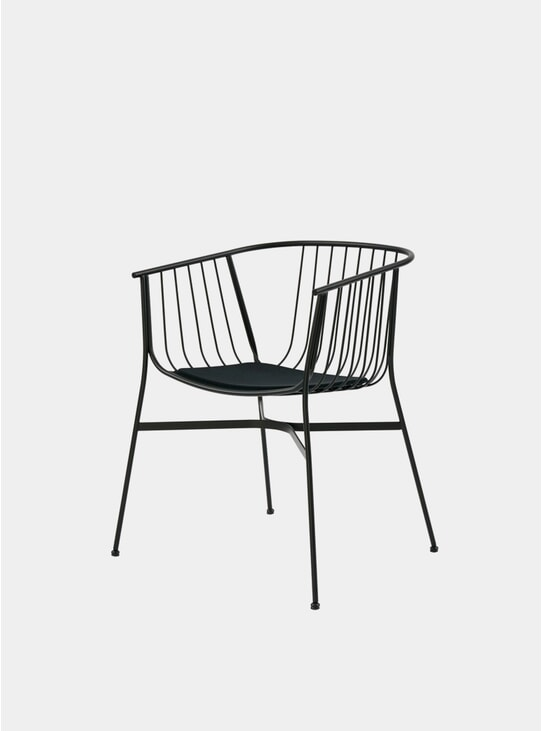 Black Jeanette Chair