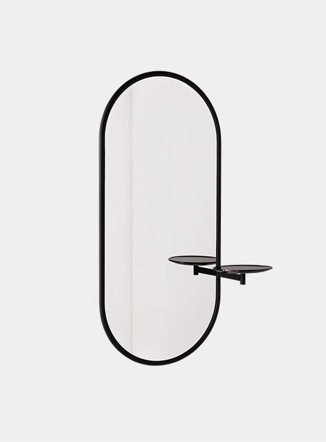 Black Marble Michelle Wall Mirror