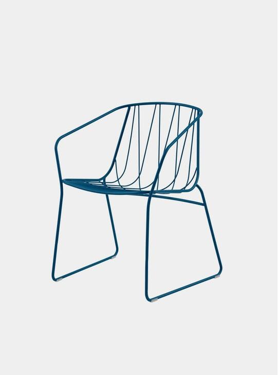 Blue Chee Armchair