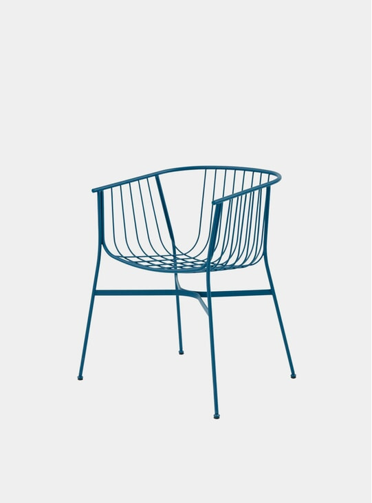 Blue Jeanette Chair