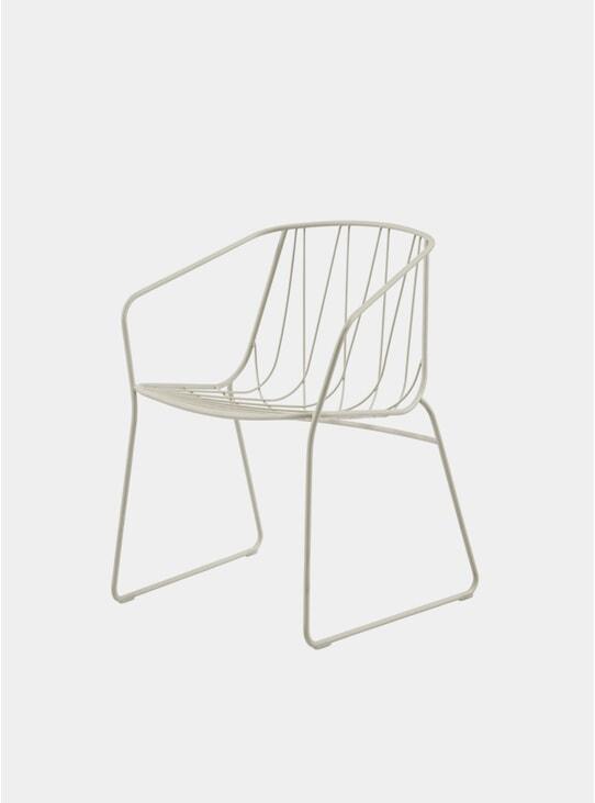 White Chee Armchair