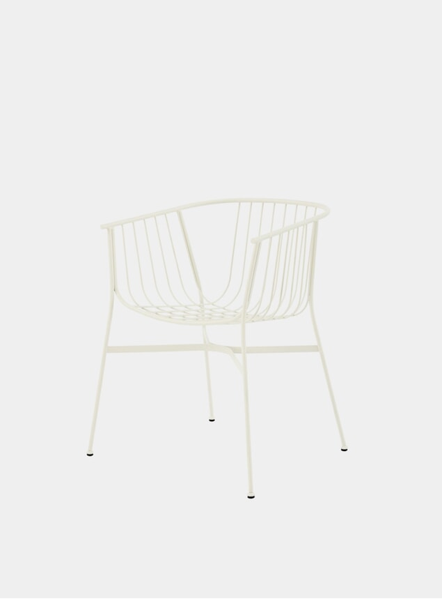 White Jeanette Chair