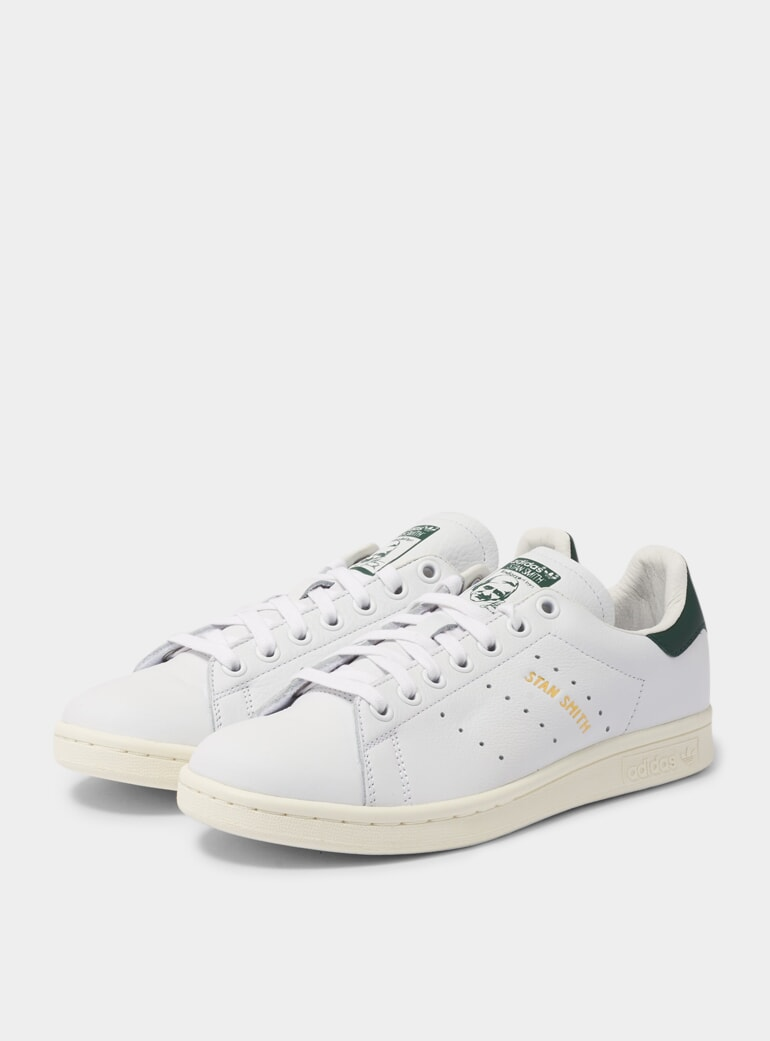 quality design 2470f 31d65 Adidas Originals White / Dark Green FTWR Stan Smith Sneakers ...
