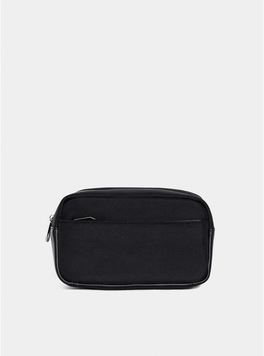 Black 21st Century Wash Bag