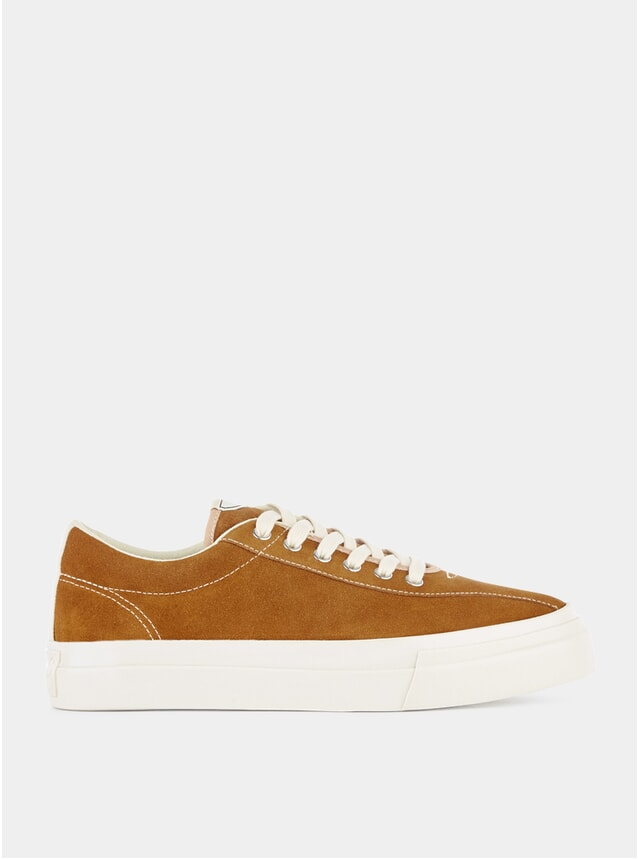 Tan Suede Dellow Sneakers