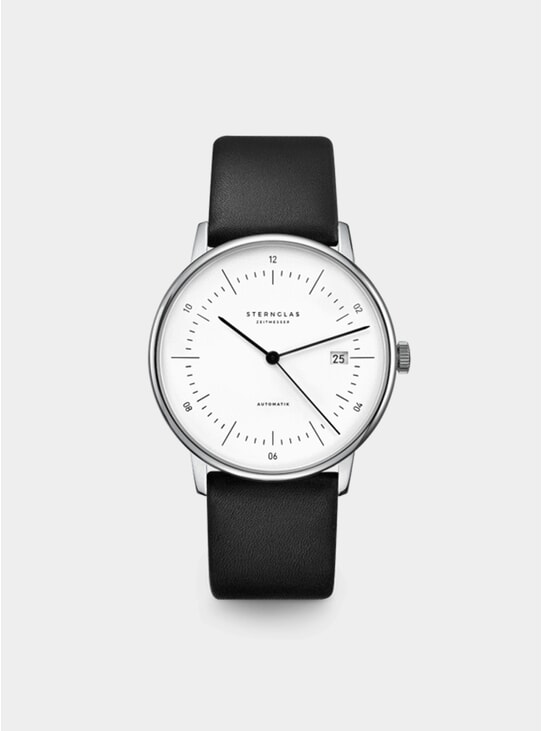 White / Silver / Premium Black Naos Automatic Watch