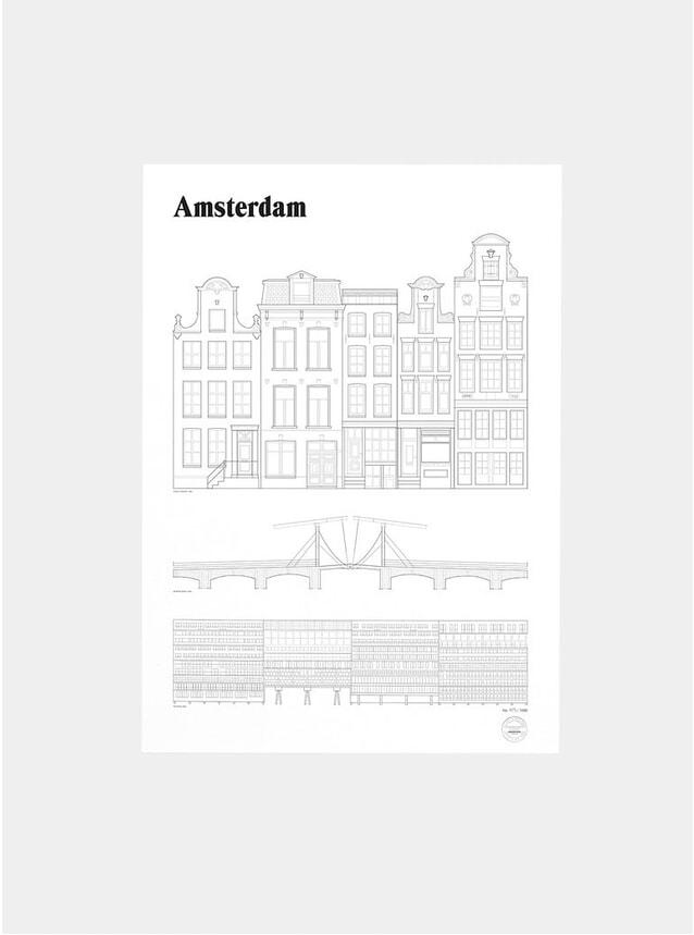 Amsterdam Landmarks Print