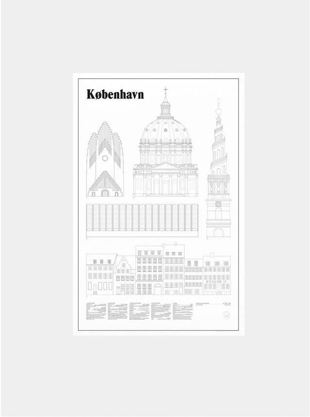 Kobenhavn Elevations Print