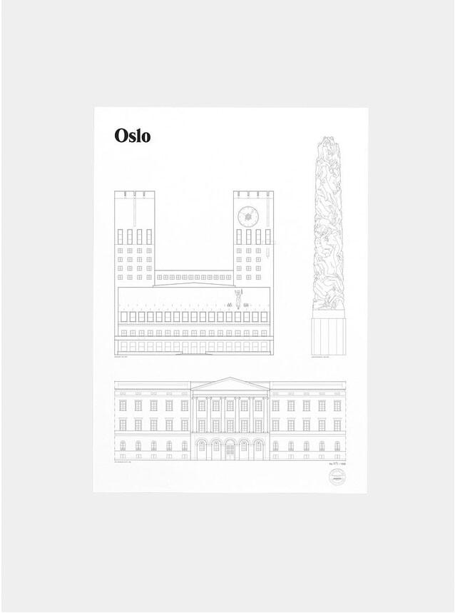 Oslo Landmarks Print