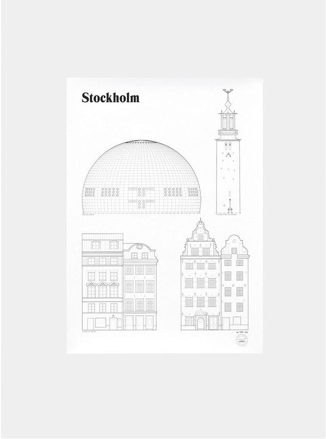 Stockholm Landmarks Print