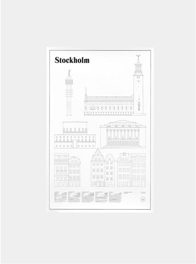 Stockholm Elevations Print