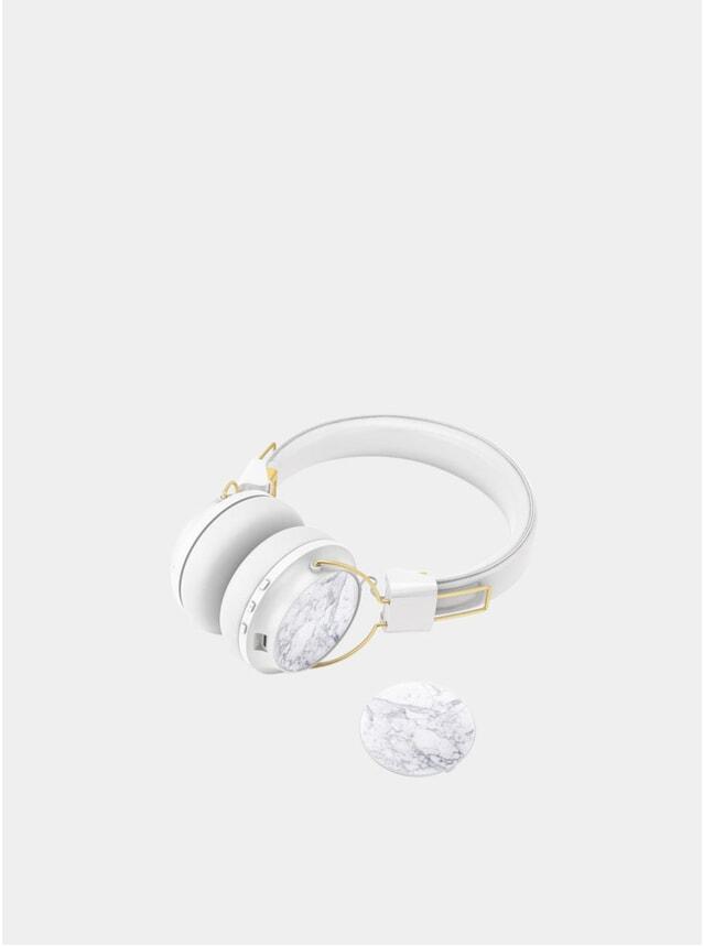 White Regent Headphones