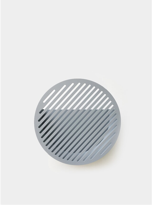 Light Grey Diagonal Wall Basket by Andréason & Leibel