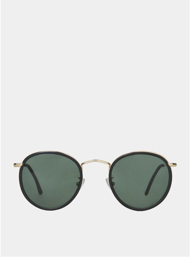 Black / Bottle Green Crossbreed Sunglasses