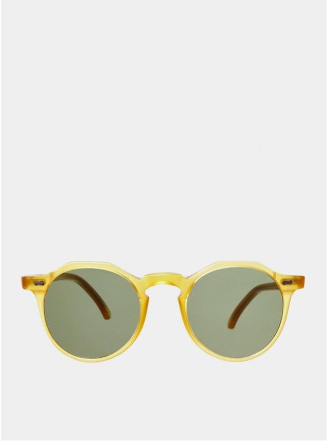 PRE-ORDER Bottle Green / Lapel Honey Sunglasses