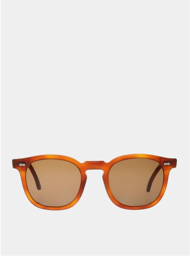 Classic Tortoise / Tobacco Twill Matte Sunglasses
