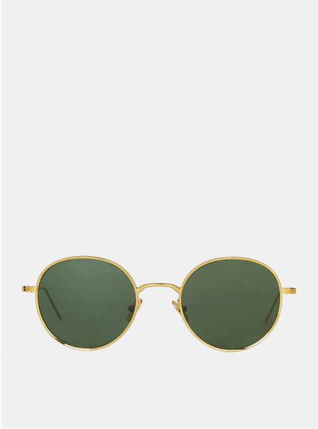 Gold / Bottle Green Ulster Sunglasses