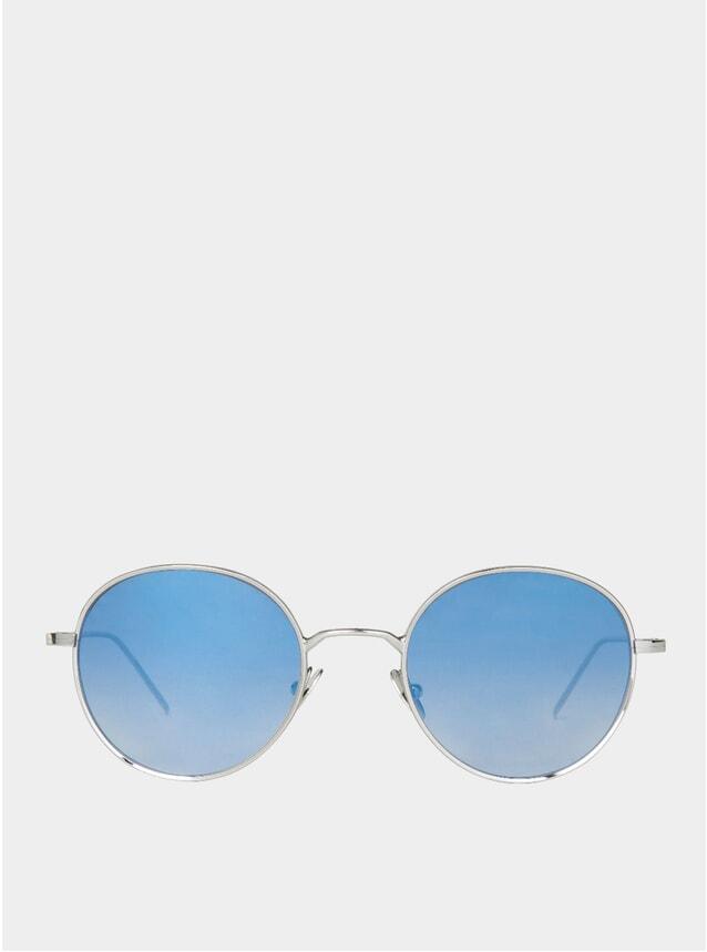 PRE -ORDER Rhodium / Blue Ulster Sunglasses