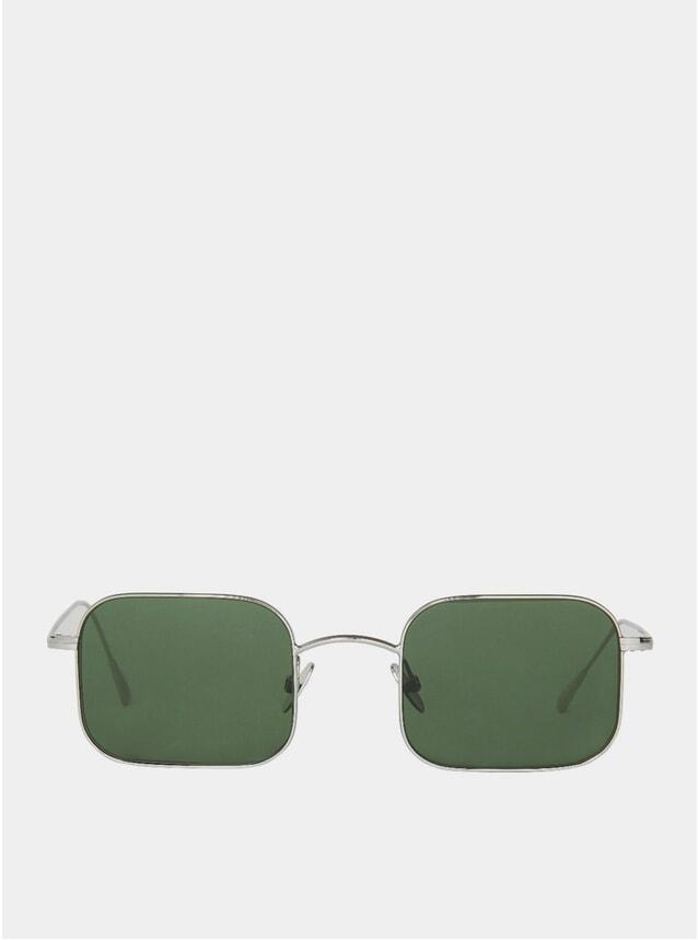 Rhodium Flare Sunglasses