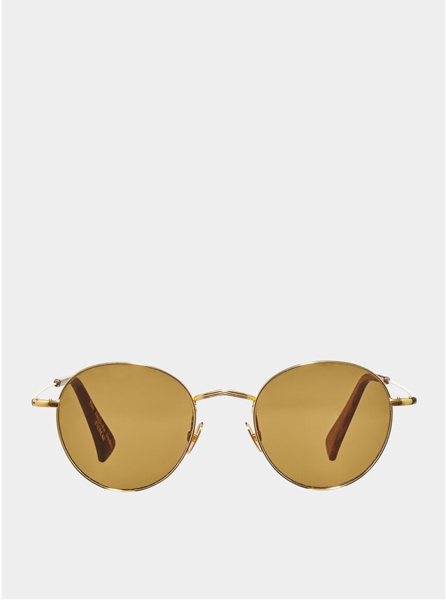 Gold / Tobacco Vicuńa Sunglasses