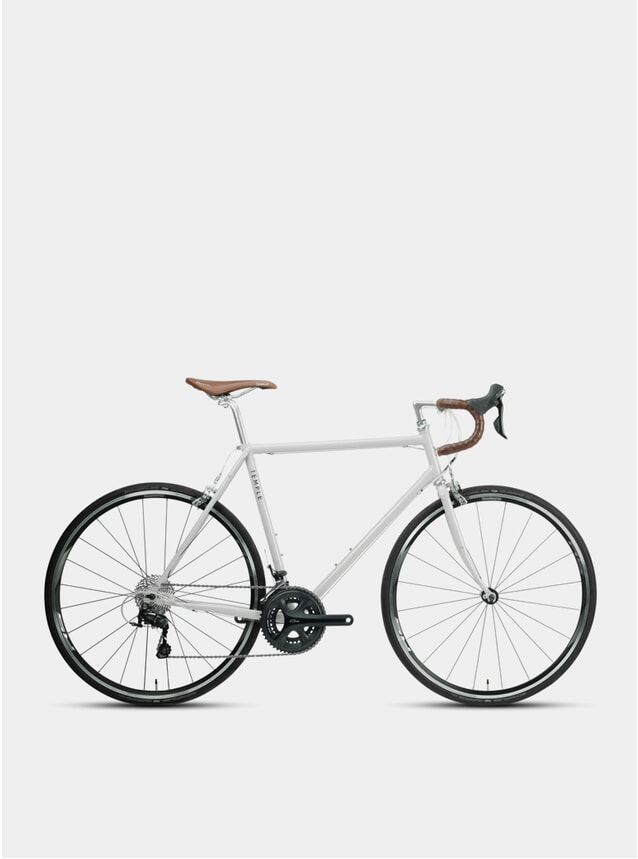 Dove Grey Classic Adventure Road Bike