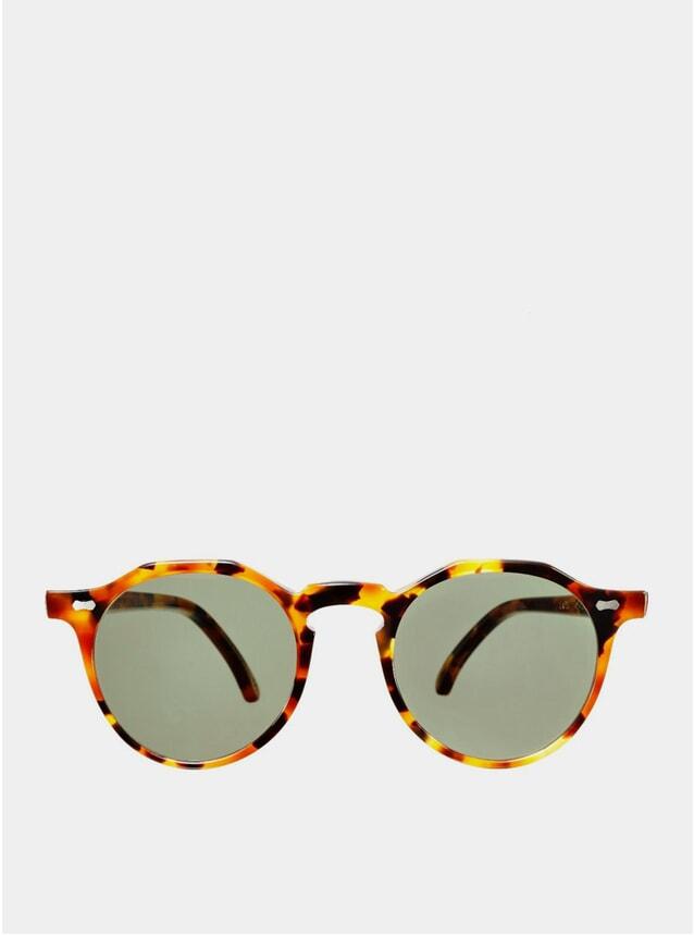Amber Tortoise Lapel Sunglasses