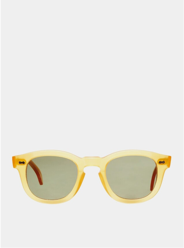 Pre-order Honey Donegal / Bottle Green Sunglasses