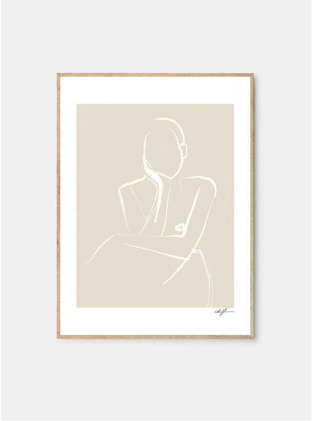 Demure Print by Anna Johansson