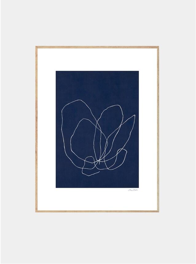 Elements Of A Tulip Print by Sheryn Bullis