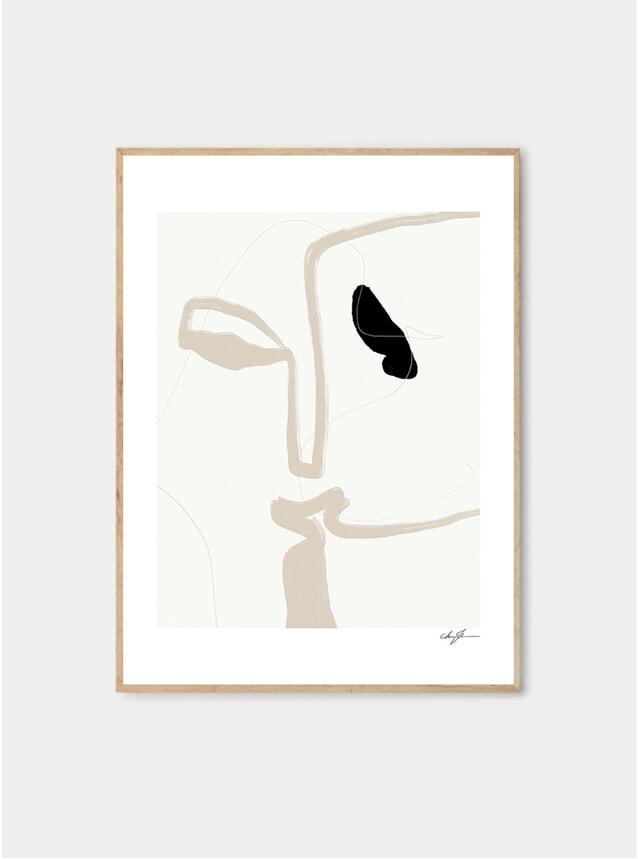 Kiss Print by Anna Johansson