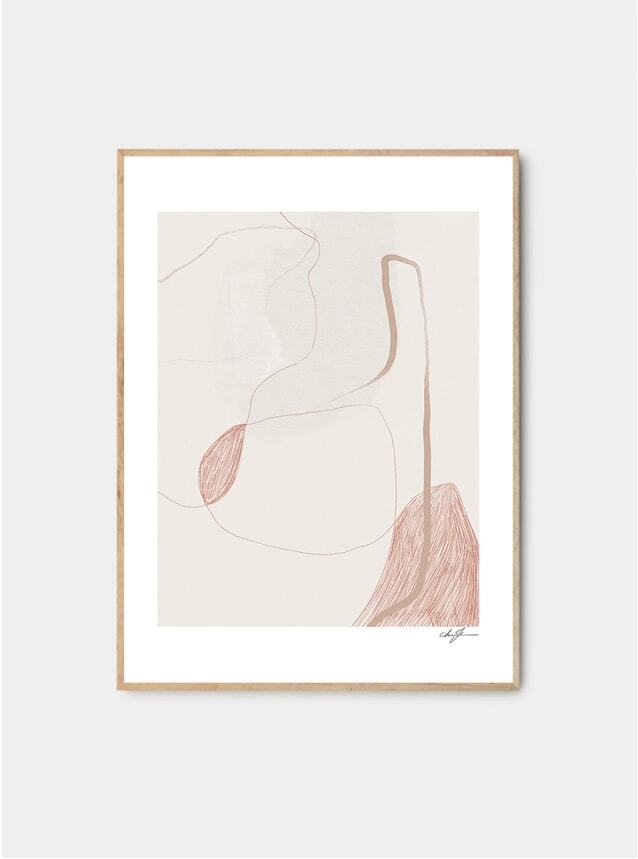 Nipples Print by Anna Johansson
