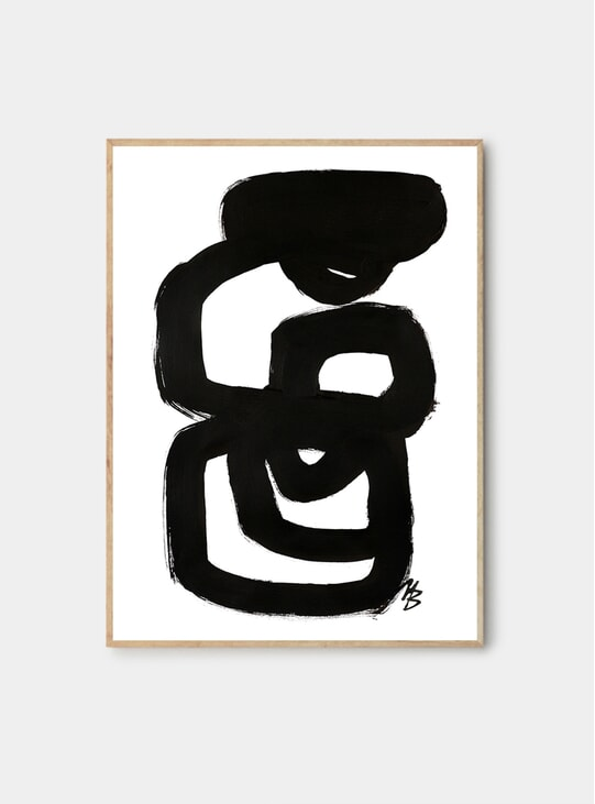 No.04 Print by Malene Birger