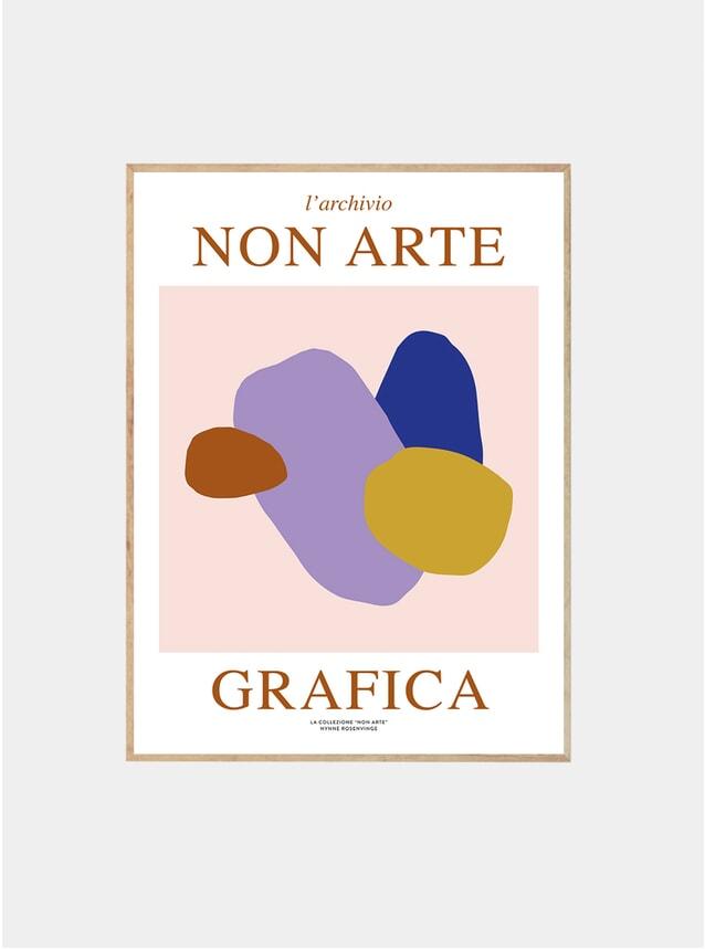Non Arte Grafica 02 Print by Nynne Rosenvinge