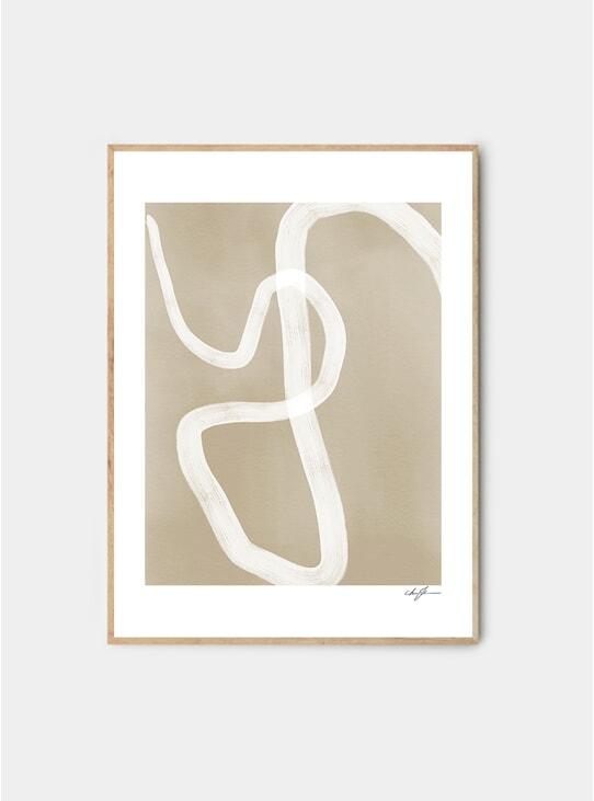 One Way Print by Anna Johansson