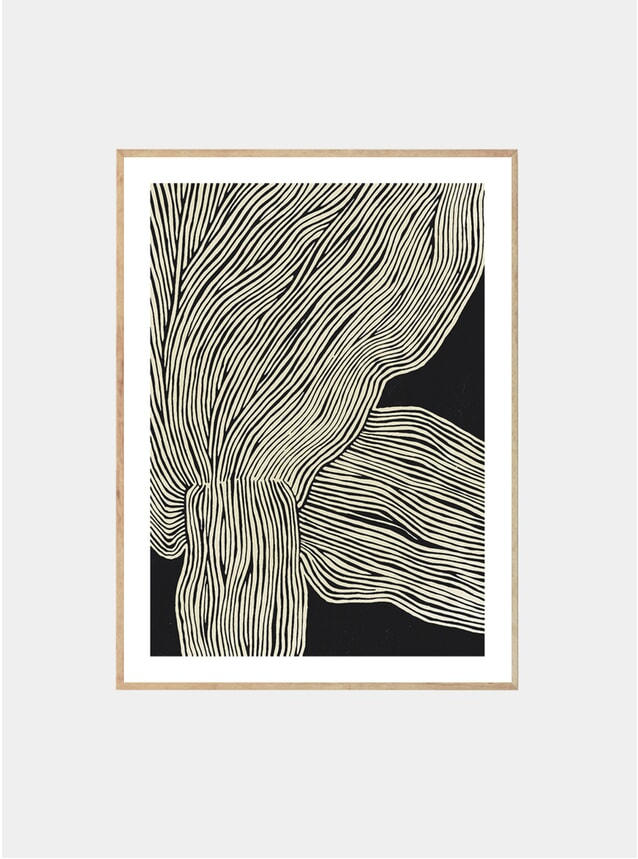 The Line No.13 Print by Hein Studio