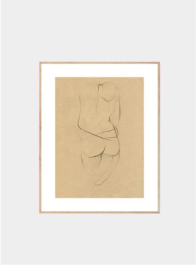 Nude 02 Print by Ekaterina Koroleva