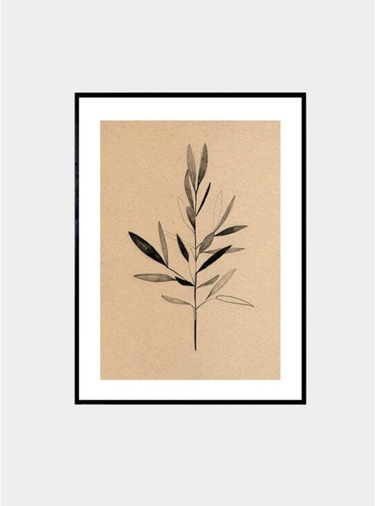 Olive Print by Ekaterina Koroleva
