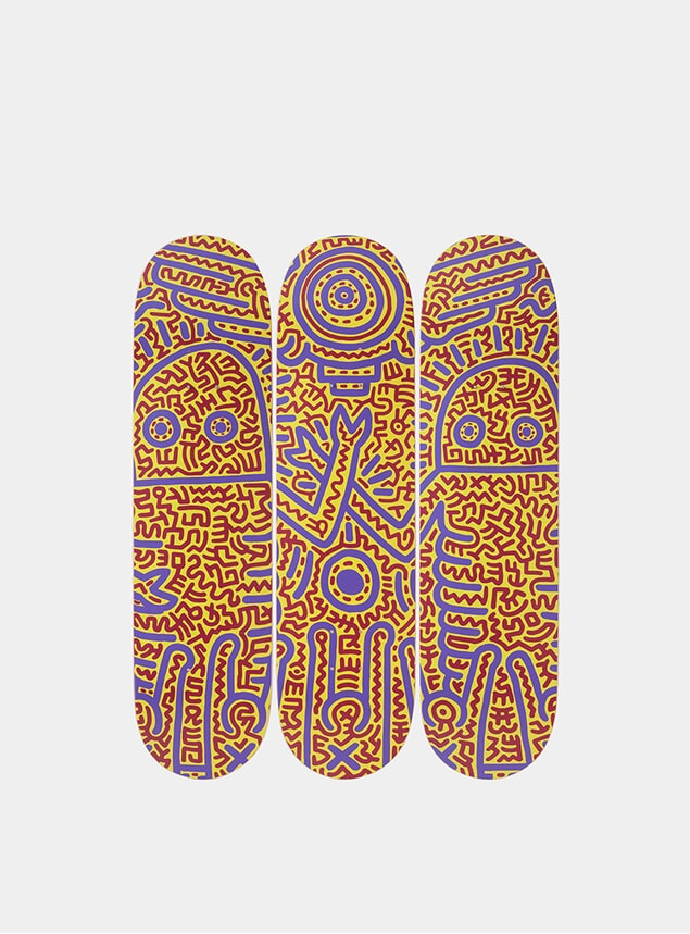Keith Haring Untitled 1984 Triptych
