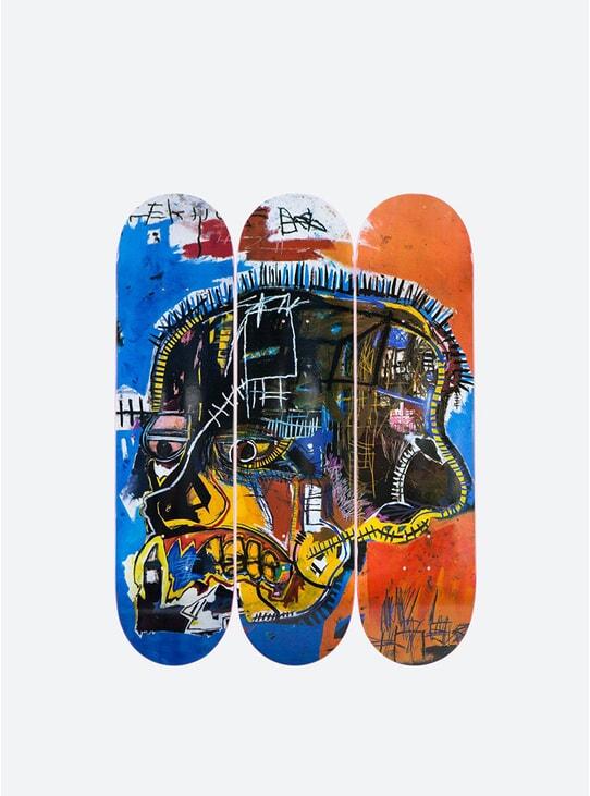 Jean-Michel Basquiat Skull