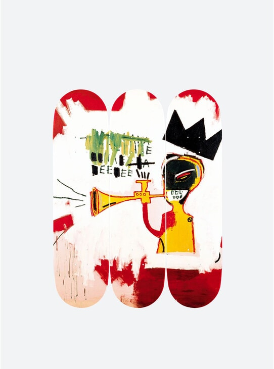Jean-Michel Basquiat Trumpet