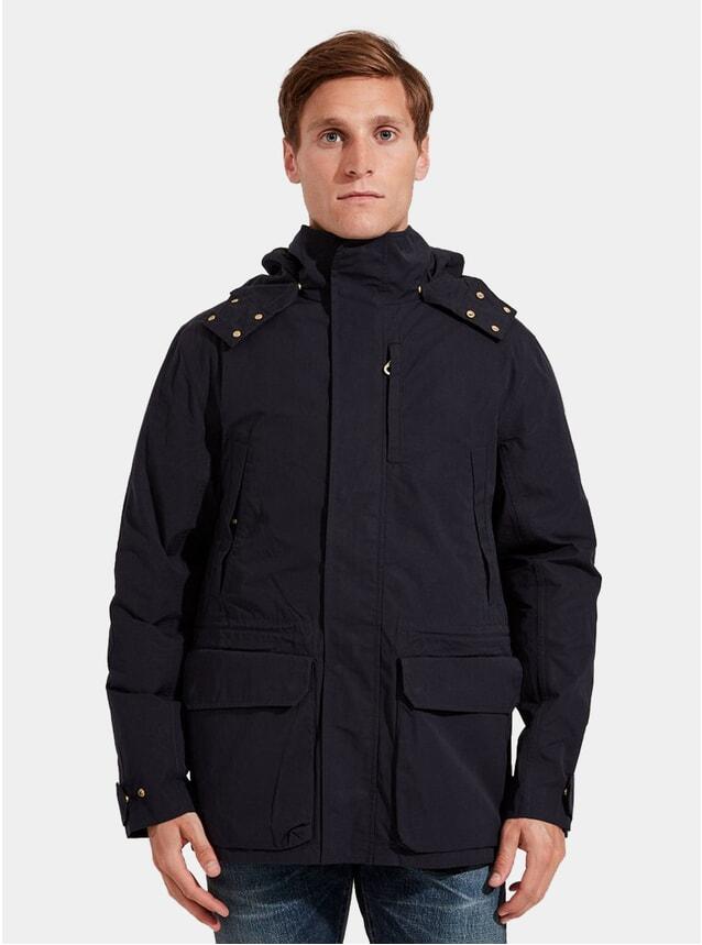 Navy Blue Shell Jacket