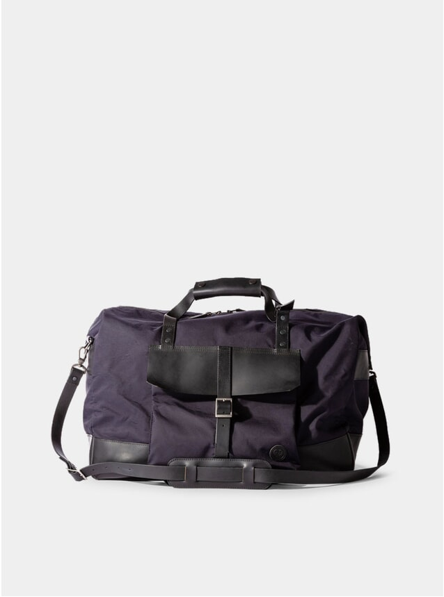 Navy Nylon Haughton Bag