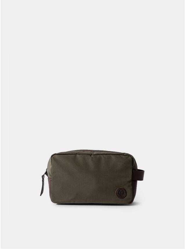 Olive Green Brindley Wash Bag
