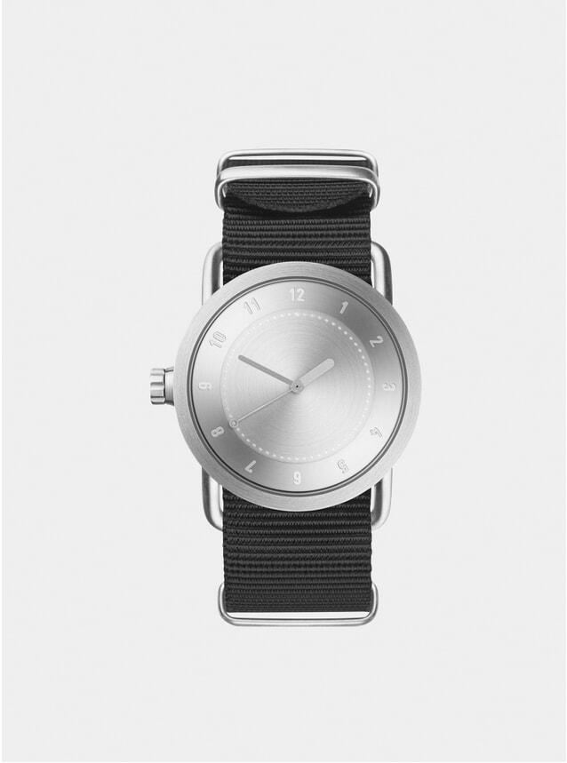 Steel / Black Nylon No.1 Watch